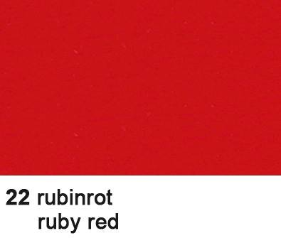 URSUS Fotokarton 70x100cm 3881422 300g, rubinrot