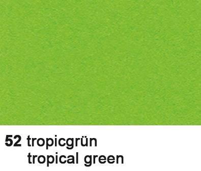 URSUS Tonzeichenpapier A4 2174652 130g, tropicgrün 100 Blatt