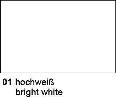 URSUS Tonzeichenpapier 50x70cm 88249299 140g, hochweiss