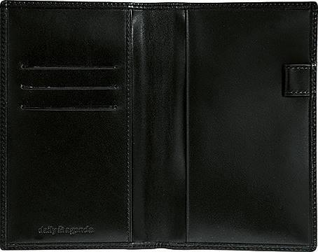 DAILY Lederhülle 110 8,7x15,3cm schwarz