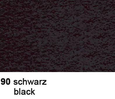 URSUS Tonzeichenpapier A4 2174690 130g, schwarz 100 Blatt