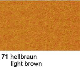 URSUS Dekorationskrepp 50x10cm 4159871 36g, braun