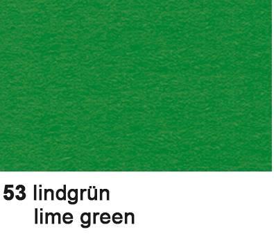 URSUS Tonzeichenpapier 50x70cm 2232253 130g, lindengrün