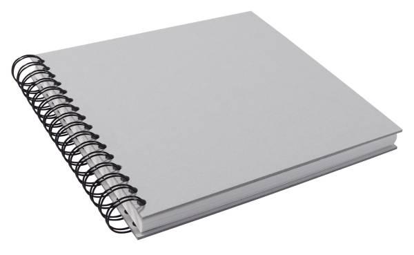 NEUTRAL Spiral-Skizzenbuch 21x21cm 150312 130g, grau 110 Seiten