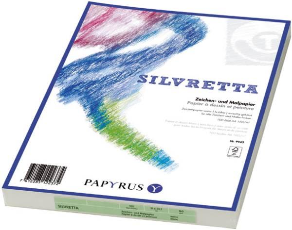 PAPYRUS Zeichenpapier A4 88248944 140g, weiss 100 Blatt