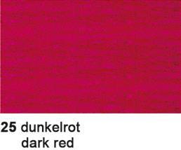 URSUS Dekorationskrepp 50x10cm 4159825 36g, dunkelrot