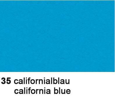 URSUS Fotokarton A4 3764635 300g, californiablau 100 Blatt