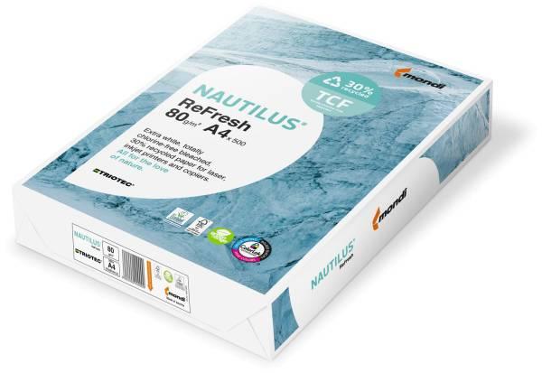 MONDI Nautilus Kopierpapier FSC A4 88078255 Frischfaser-Rec.80g SB 500 B.
